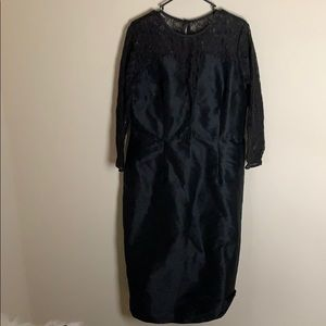 Eshakti Custom Black Lace Formal Dress